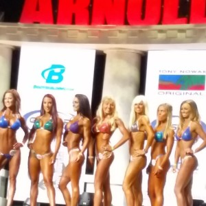 Standing next to 20-somethings at the Arnold