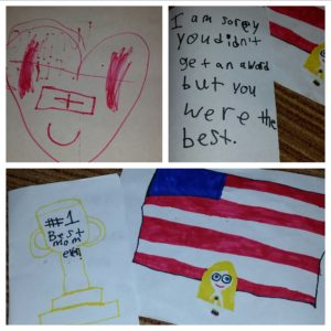Cards from my kids