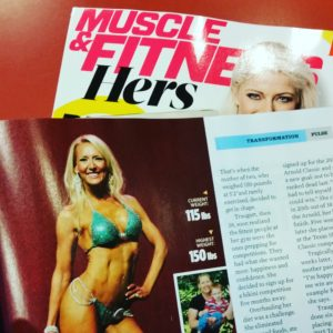 My transformation story in Muscle & Fitness Hers