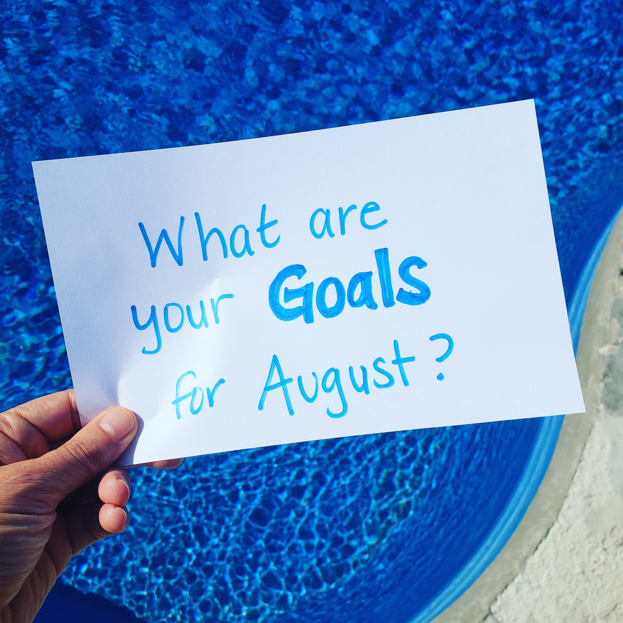 What Are Your August Fitness Goals?